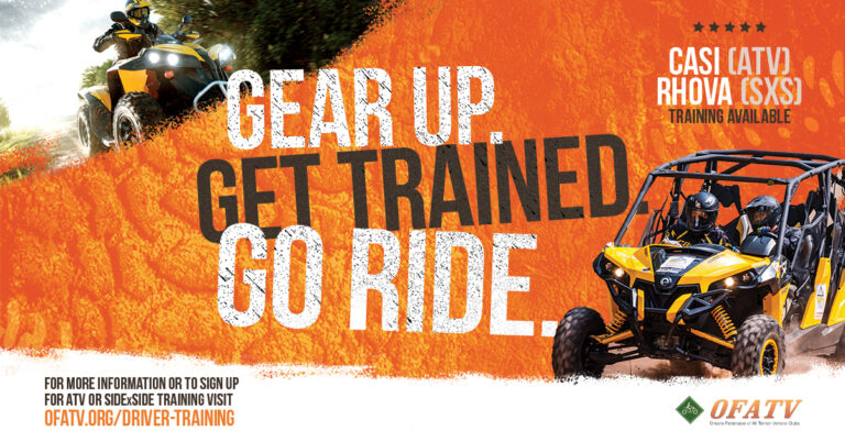 Read more about the article Pre-Register NOW OPEN! ATV & SXS/UTV Rider Training